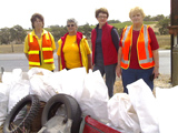 Sterling Job by Lobethal Volunteers in Cleaning up Australia