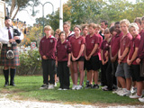 Anzac Assembly at Birdwood High School