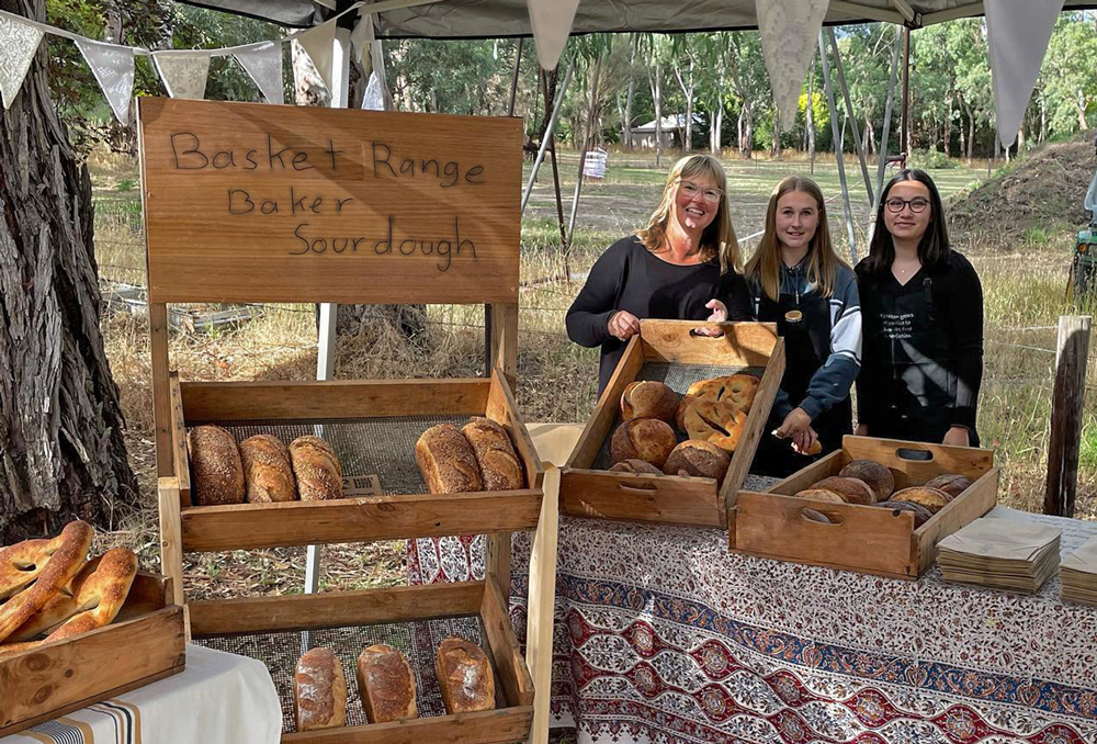 The Basket Range Bakers sold out at the Oakbank Hall's Saturday Market in February. They will be stocked up at the next market, 13th March. Contact via Facebook or 0402 058 160.