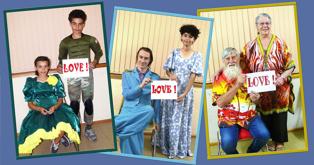 Top of the Torrens Theatre Group presents LOVE! LOVE! LOVE! on 22, 23, 28, 29, 30 May in Mount Pleasant.