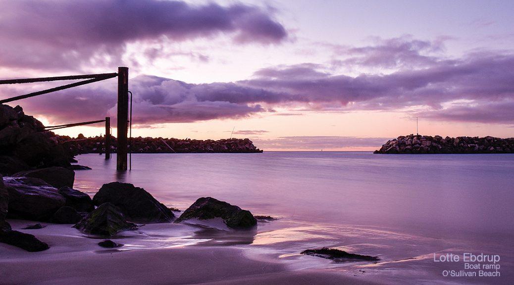 Lotte Ebdrup – Boat ramp, O'Sullivan Beach
