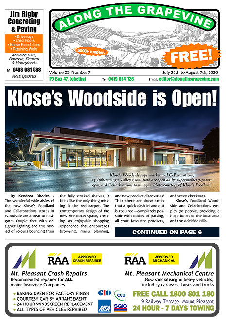 Kloses-Foodland-Woodside-Open-Along-The-Grapevine-front